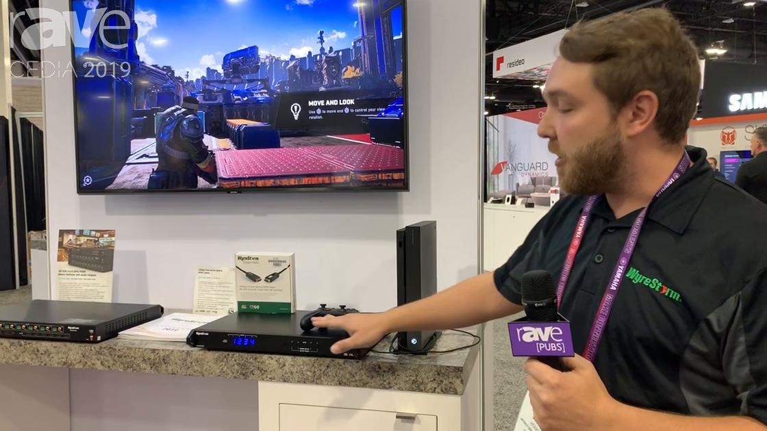 CEDIA 2019: WyreStorm Highlights MX-0404-H2A HDMI 2.0 Matrix Switcher