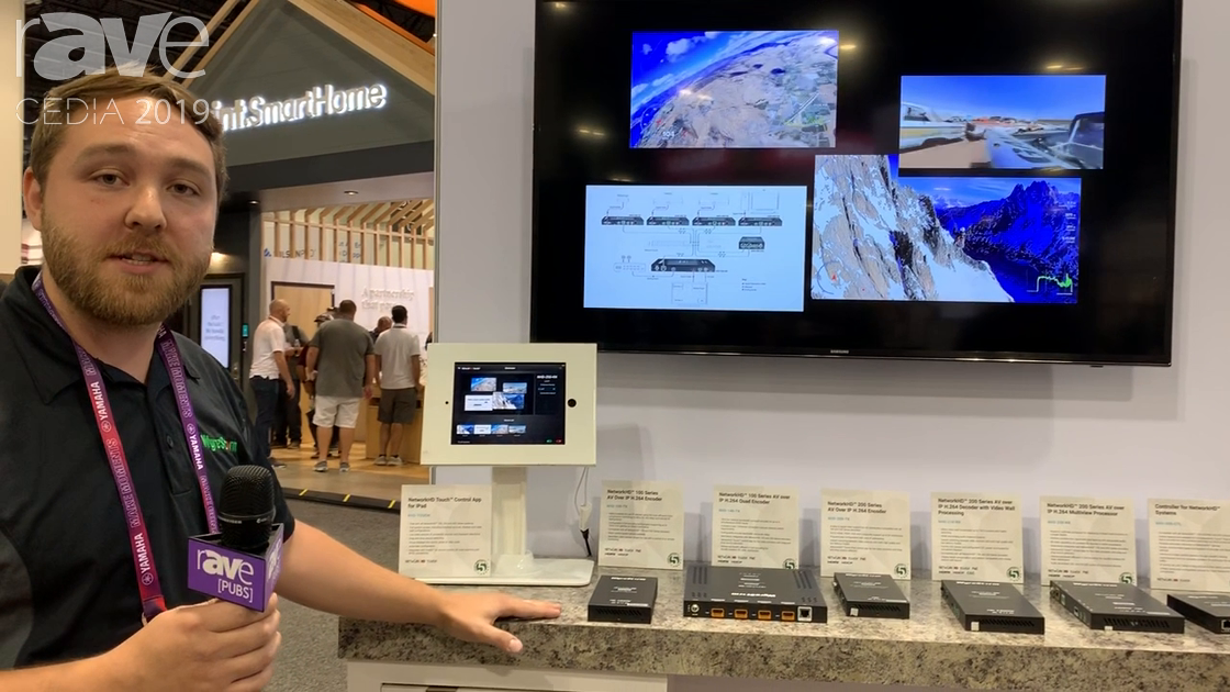 CEDIA 2019: WyreStorm Demos NetworkHD 250 H.264-Over-IP Receiver