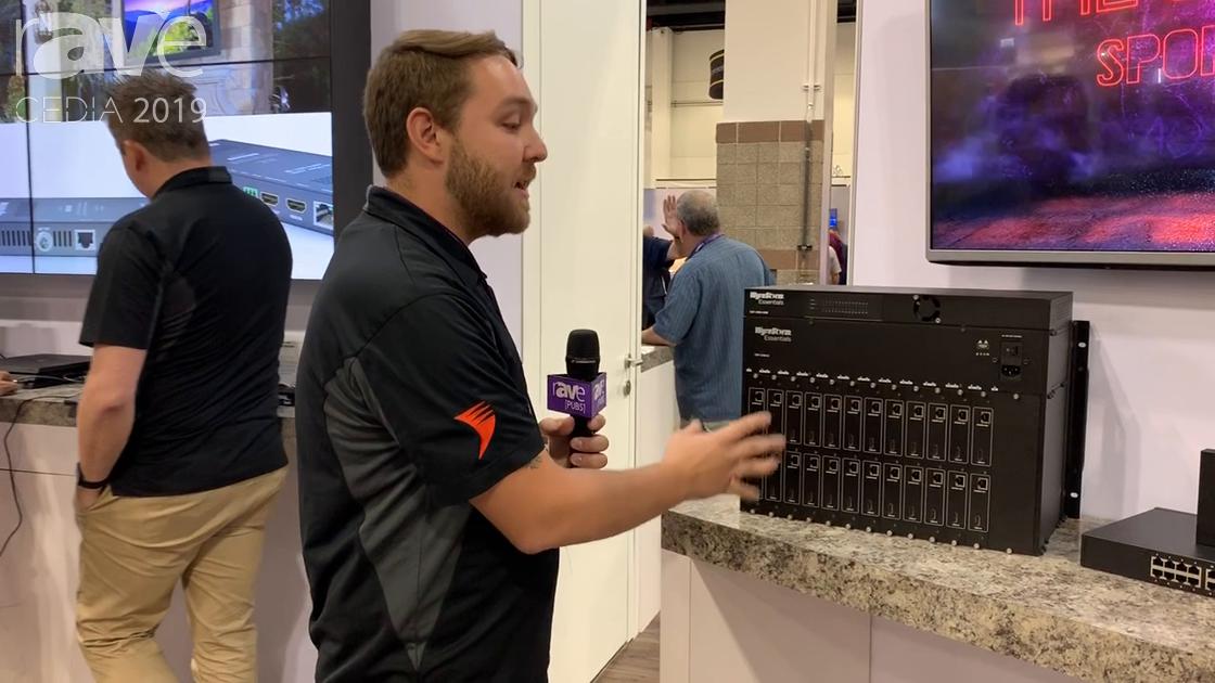 CEDIA 2019: WyreStorm Exhibits Its EXP-2496 Modular Matrix