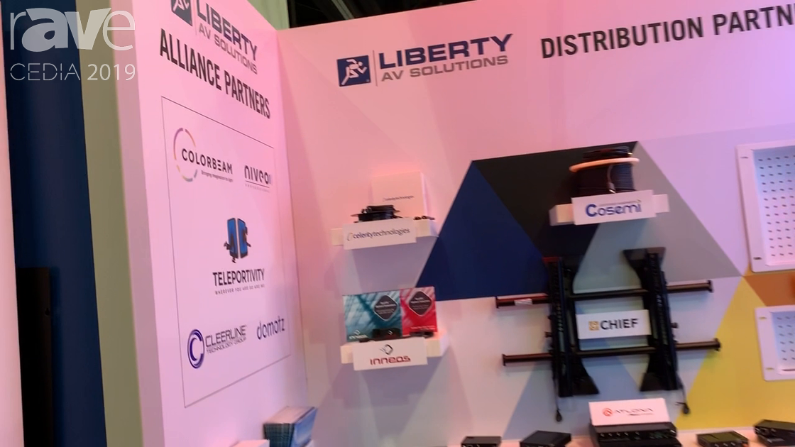 CEDIA 2019: Liberty AV Talks About Distribution Partners and Installation Suppliers