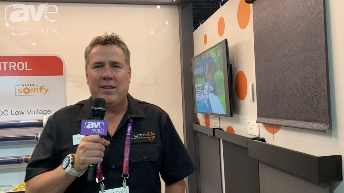 CEDIA 2019: Lutek Shading Systems Presents RENSON Camargue Outdoor Pergola