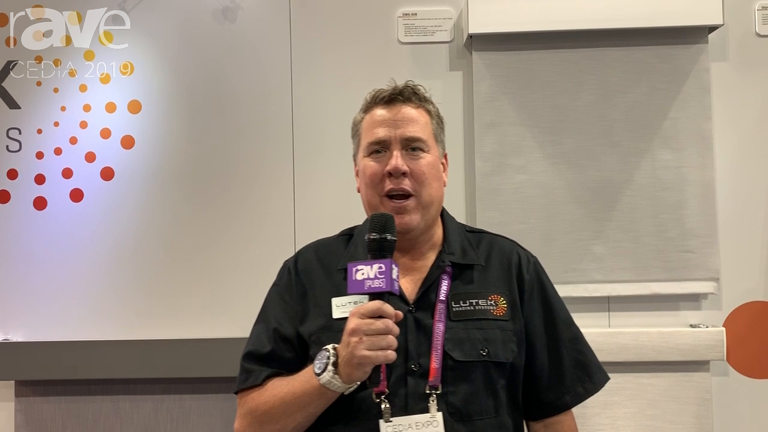 CEDIA 2019: Lutek Shading Systems Talks Shade Control and Motorized Drapery