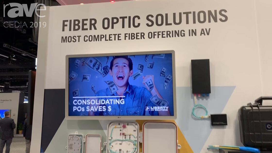 CEDIA 2019: Liberty AV Presents Its Expanded Lineup of Fiber Optic Solutions