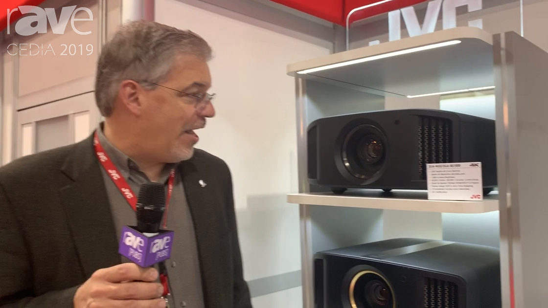 CEDIA 2019: JVC Goes Over How Its DiLA Projector Technology Works, Talks New Models