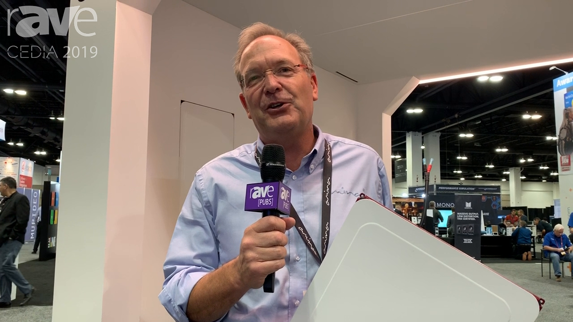 CEDIA 2019: Amina Technologies Shows How Its Edge Range of Invisible Speakers Works