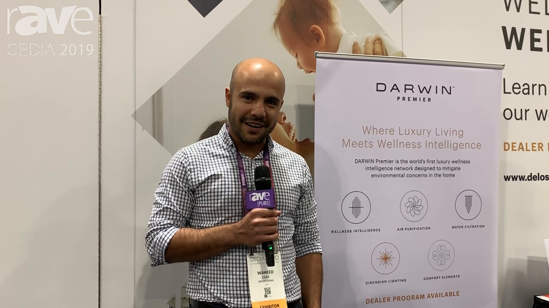 CEDIA 2019: Delos' Darwin Optimizes Lighting, Air Quality, Temperature & More for Maximized Wellness