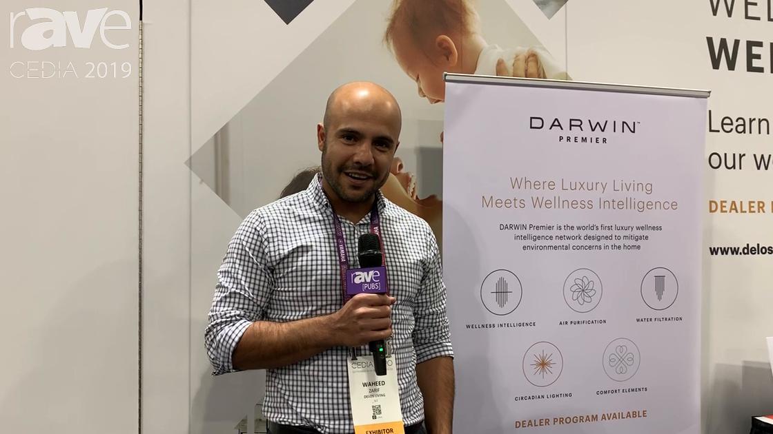 CEDIA 2019: Delos' Darwin Optimizes Lighting, Air Quality, Temperature & More for Maximized Wellness