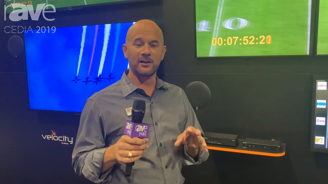 CEDIA 2019: Atlona Combines OmniStream AV-Over-IP Solution With Velocity Control for Sports Bars
