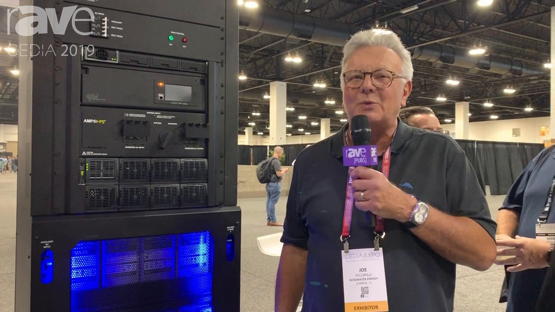 CEDIA 2019: RoseWater Energy Showcases the SB 20 Energy Management Solution