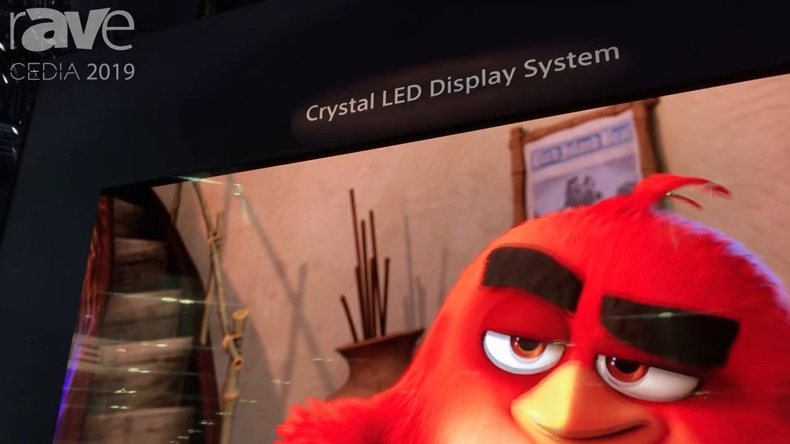CEDIA 2019: Sony Shows Off Its Crystal LED Video Wall Display System, Now Sold Through CI Channel