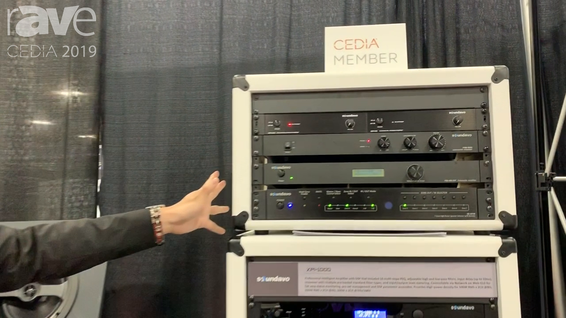 CEDIA 2019: Soundavo Showcases Line of DSP Amplifiers With Web Control