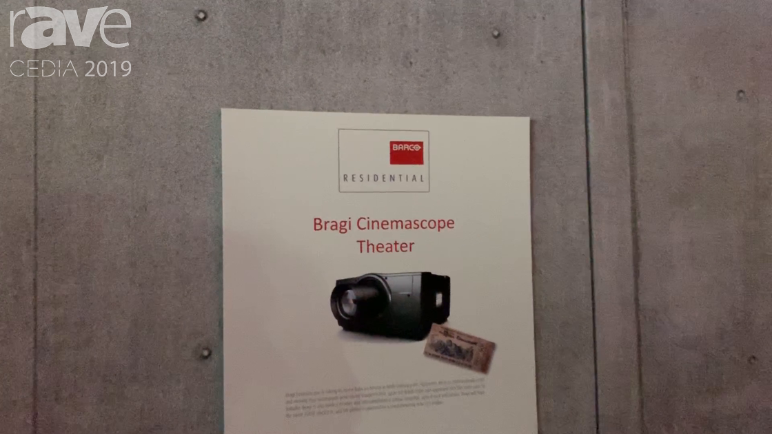 CEDIA 2019: Barco Residential Debuts Bragi Cinemascope Theater Projector