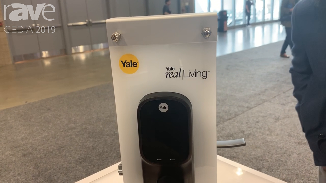 CEDIA 2019: Yale Features the Leverlock and Deadbolt Versions of Smartlocks