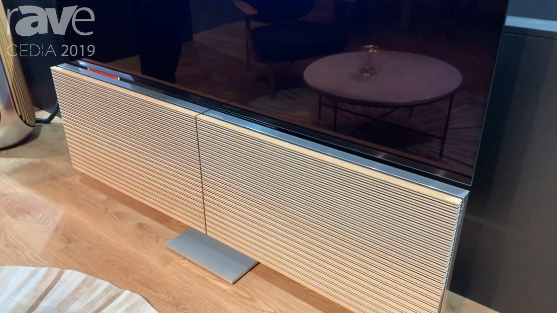 CEDIA 2019: Bang & Olufsen Demos Beovision Harmony Television Experience Using LG OLED