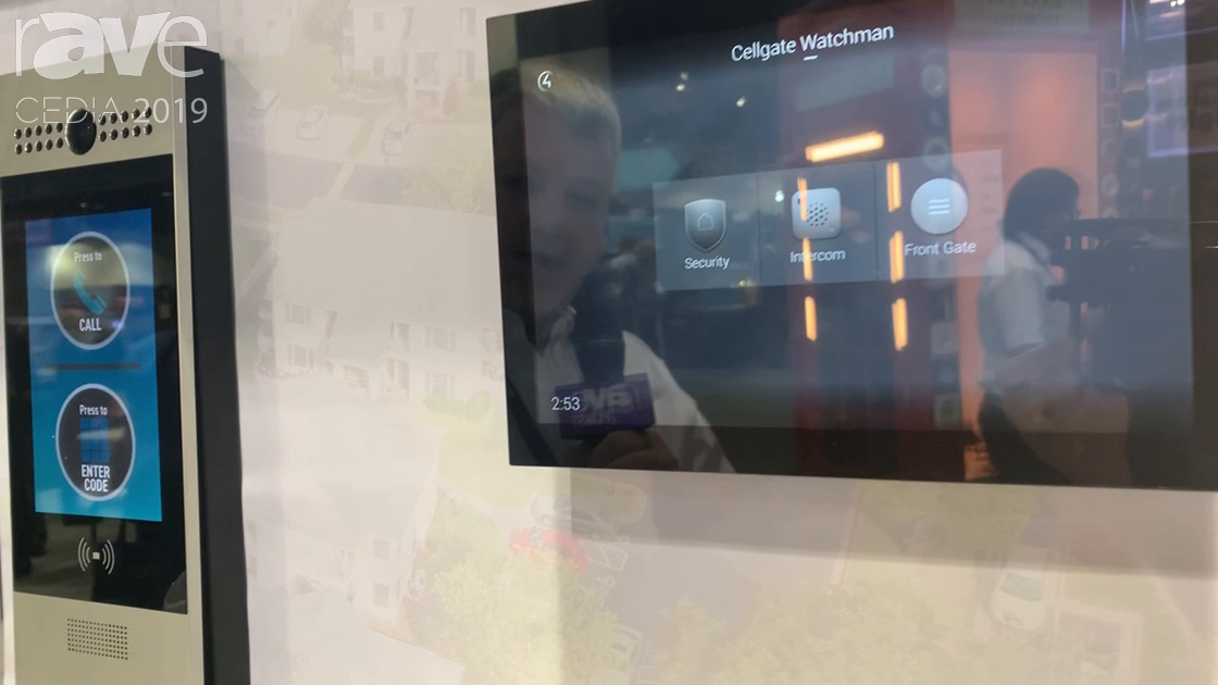 CEDIA 2019: CellGate Integrates Cellular Telephone Entry With Control4