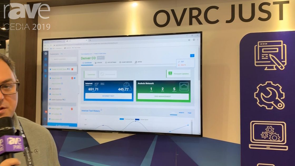 CEDIA 2019: SnapAV Debuts New Features to OvrC Cloud Management Solution