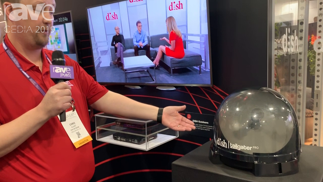 CEDIA 2019: Dish Talks About Tailgater Pro Satellite Dish by King Controls for RV Installs
