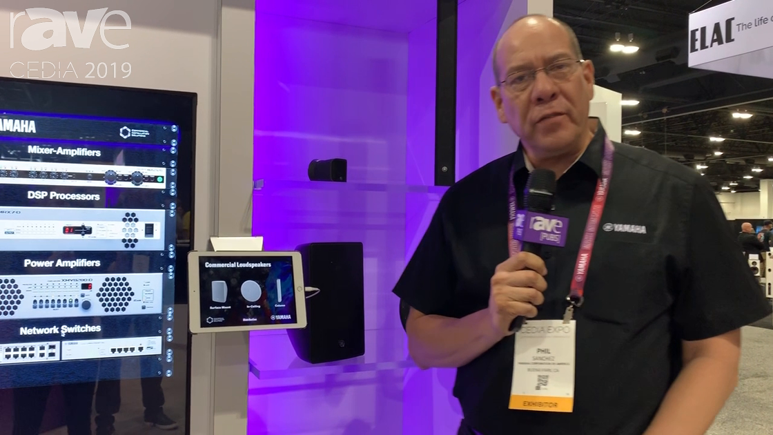 CEDIA 2019: Yamaha Corporation of America Commercial Talks Audio Solutions for Fixed-Install