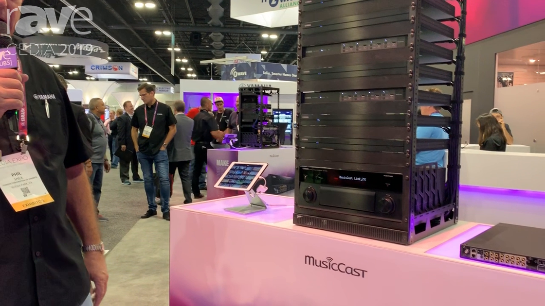 CEDIA 2019: Yamaha Corporation of America Features Its MusicCast Multi-Room Audio System