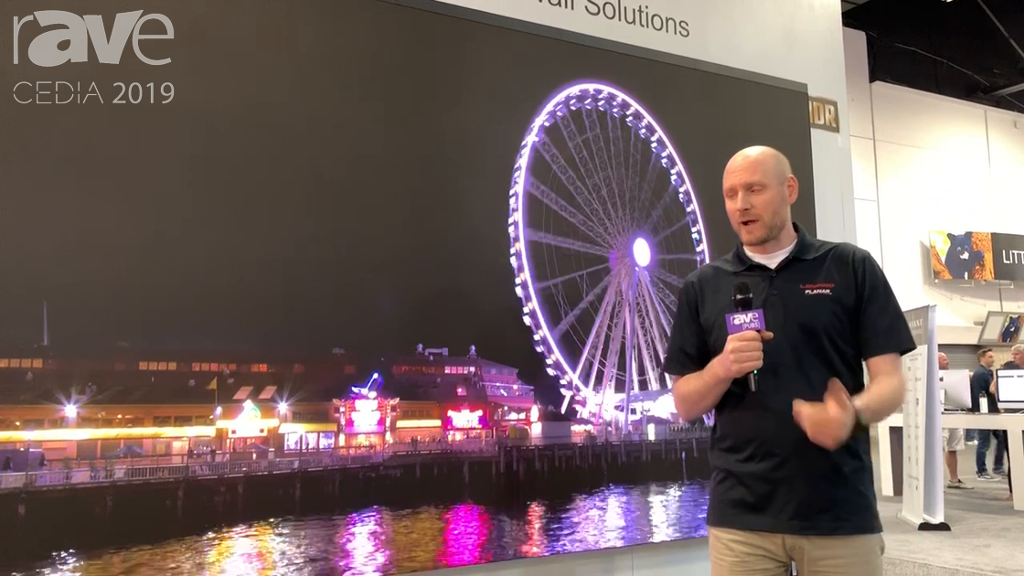 CEDIA 2019: Leyard Planar Exhibits Affordable, Front-Access TVF Fine Pitch LED Video Wall System