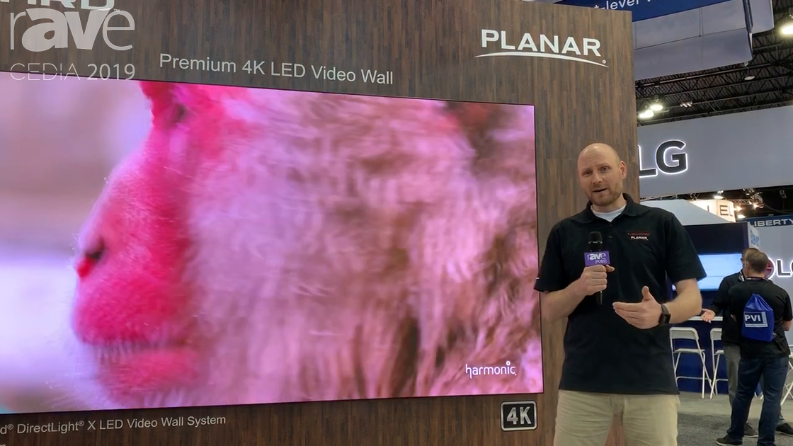 CEDIA 2019: Leyard Planar Features DirectLight X LED Video Wall System, Available in 0.7mm Pixel