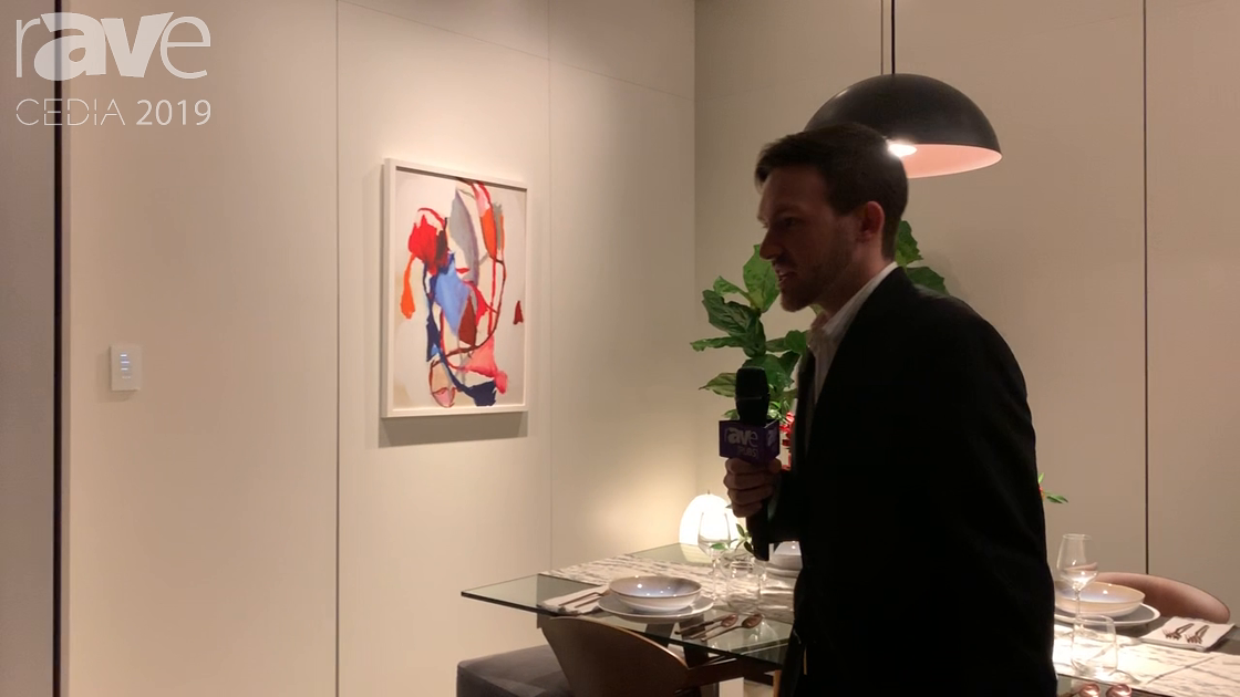 CEDIA 2019: Lutron Shows Palladiom Keypads and Ketra Lighting System in a Dining Room Application
