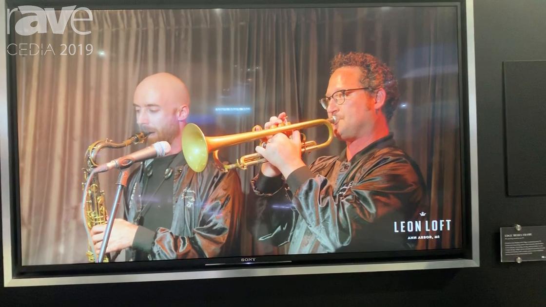 CEDIA 2019: Leon Speakers Shows Its Customizable Edge TV Media Frame for Hiding Bezels, Technology
