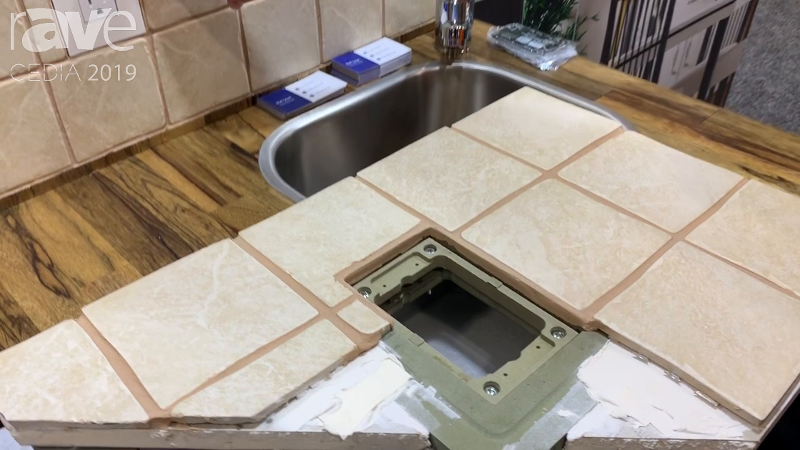 CEDIA 2019: Wall-Smart Exhibits Tile-In Mounting Product