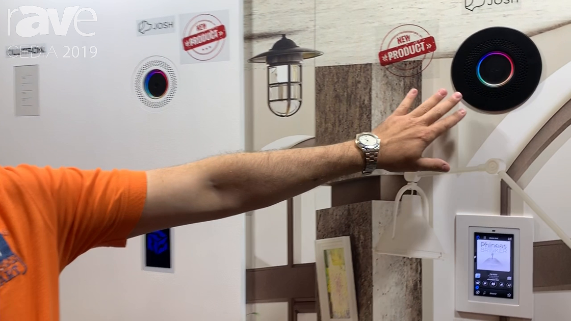 CEDIA 2019: Wall-Smart Highlights In-Wall Flush-Mount Products for Josh.ai