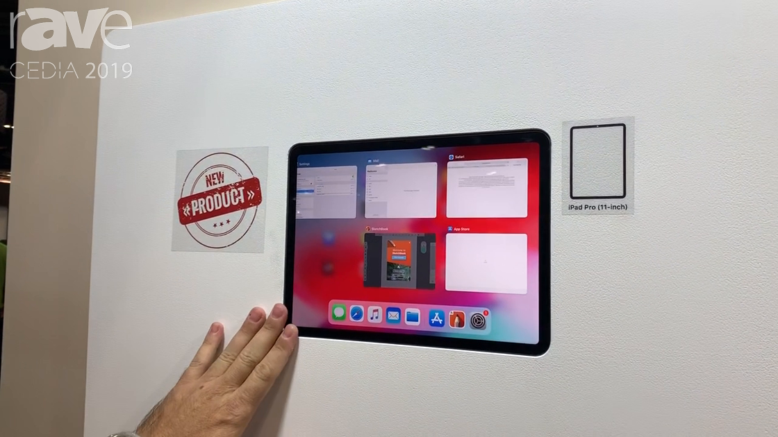 CEDIA 2019: Wall-Smart Talks About iPad Mounting Solutions
