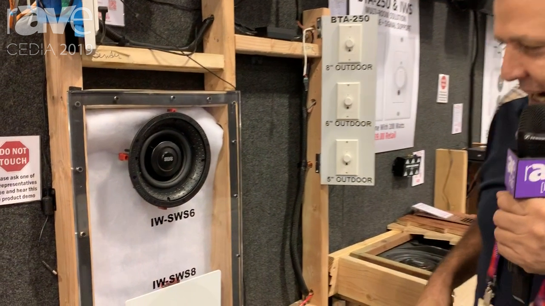 CEDIA 2019: Earthquake Sound Talks About IW-SWS6 In-Wall Subwoofer