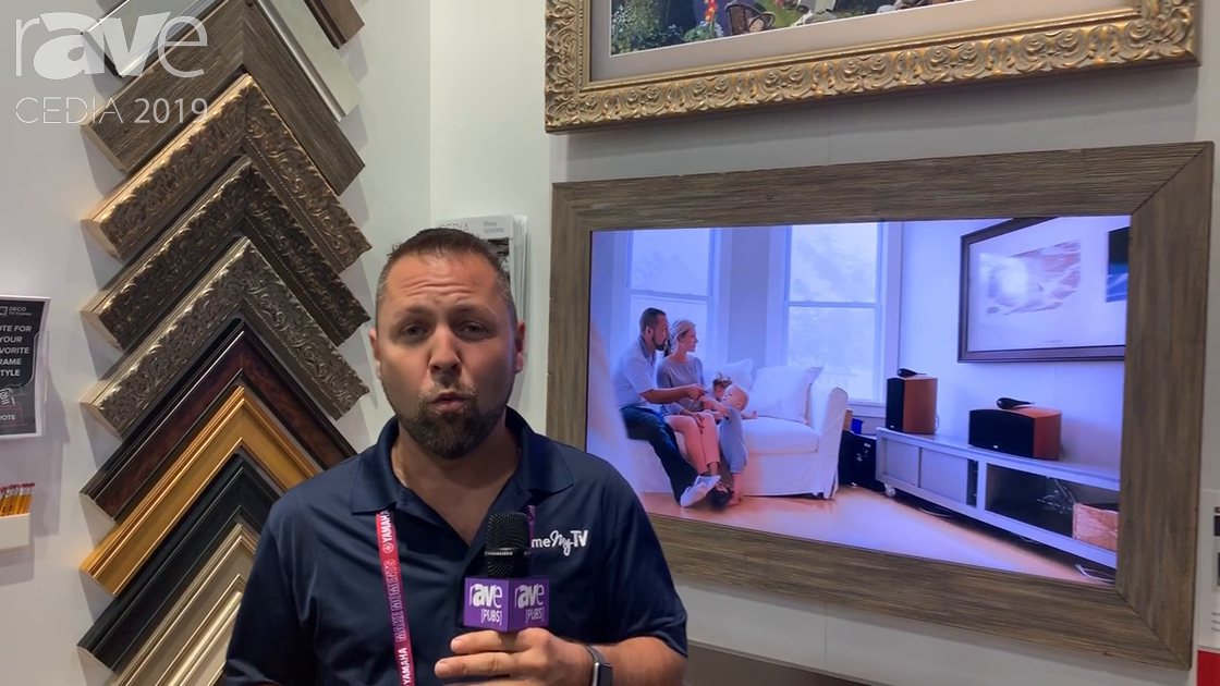 CEDIA 2019: Frame My TV Intros Deco Frames, and Affordable Framing Solution for Samsung The Frame