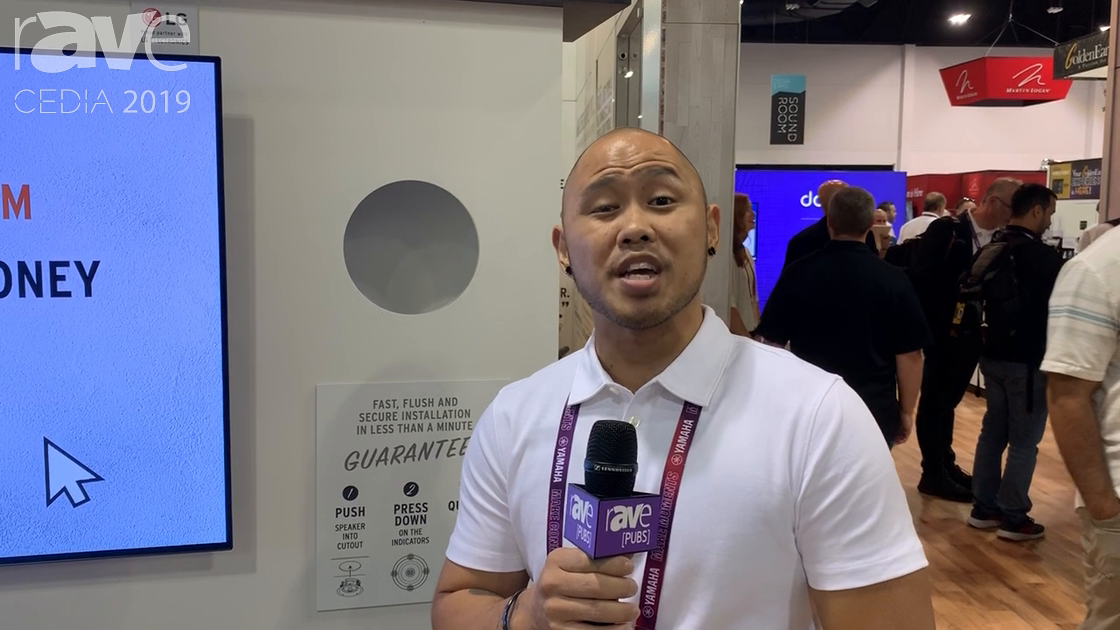 CEDIA 2019: Klipsch Demos Quick and Easy In-Wall/Ceiling Speaker Mounting Solution