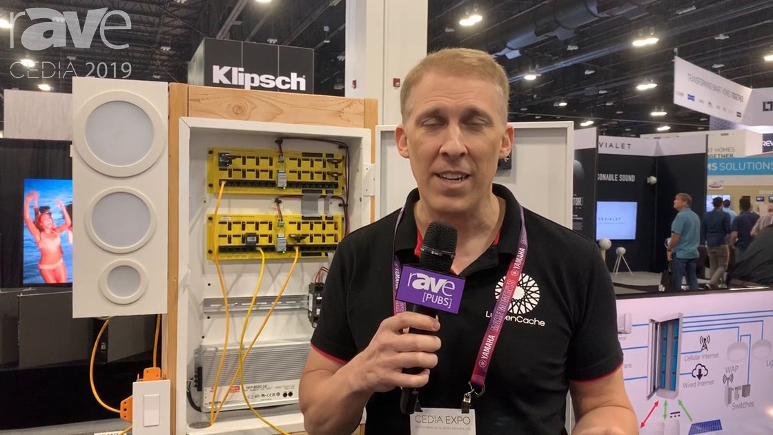 CEDIA 2019: LumenCache Highlights DC-Powered Lighting Distribution System