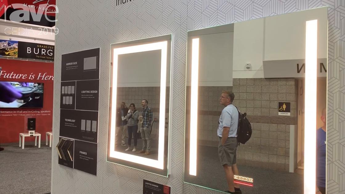CEDIA 2019: Séura Features Line of Premium Vanity Mirrors