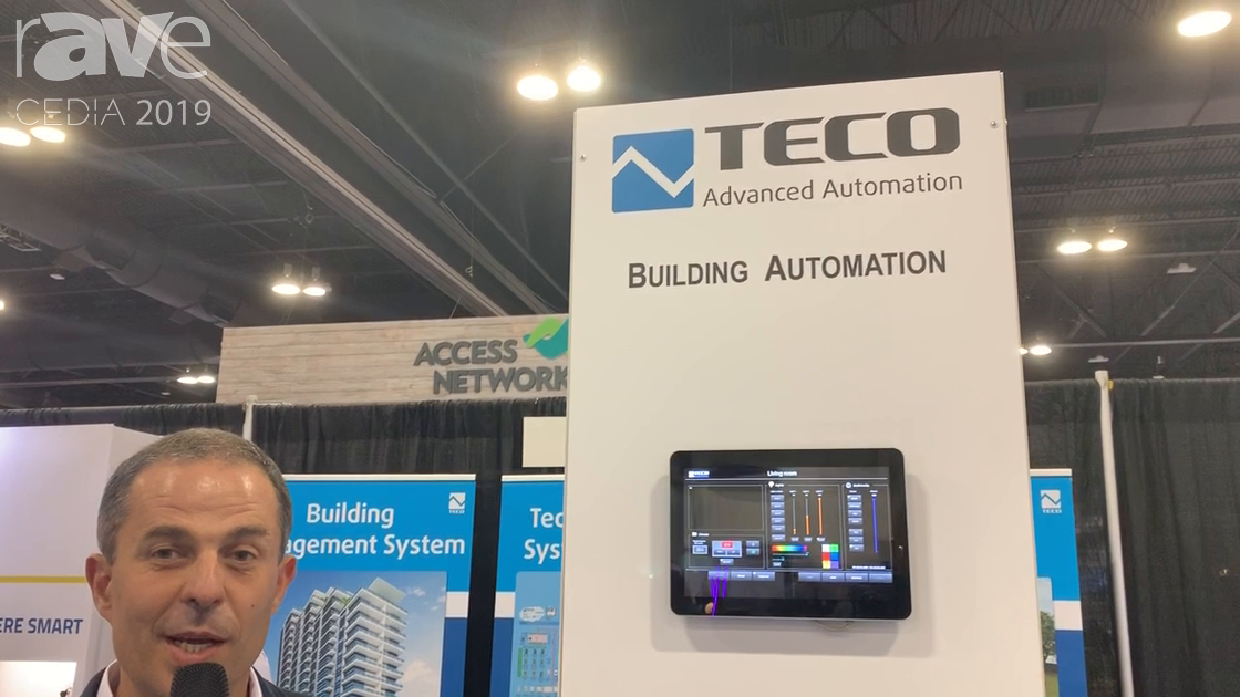 CEDIA 2019: TECO Overviews Automation Solutions for Pro and Home Channels