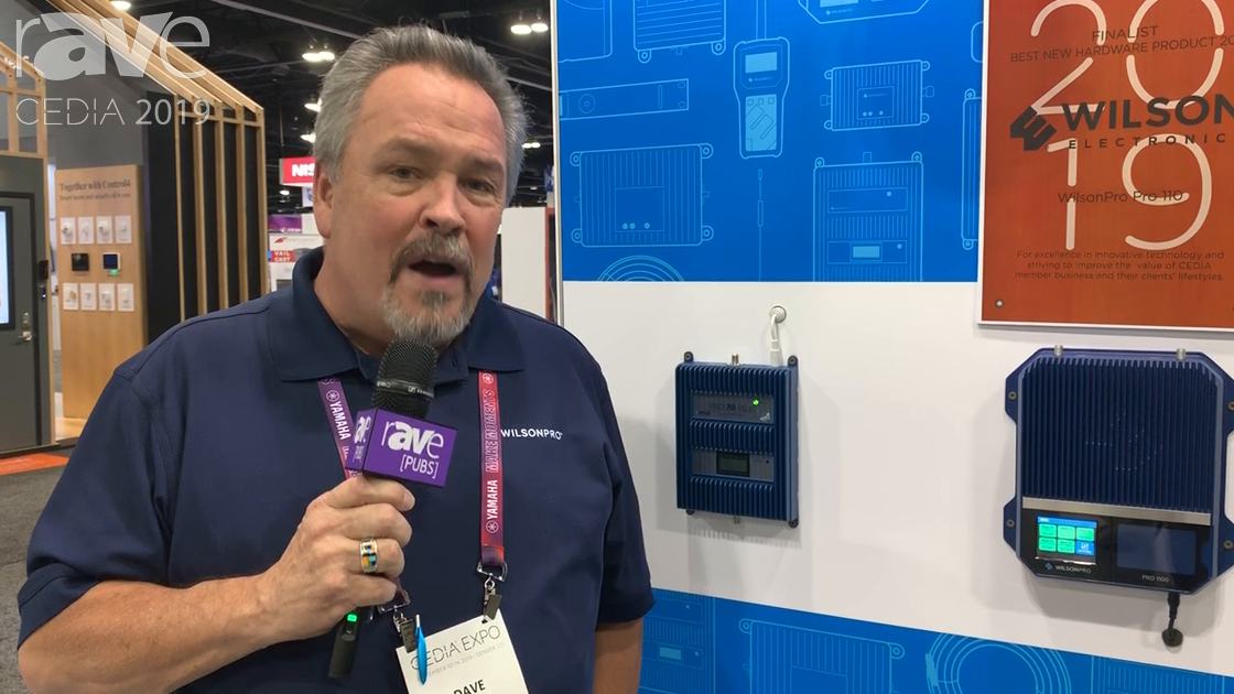 CEDIA 2019: Wilson Electronics Presents Pro 1100 Cellular Connection Amplifier