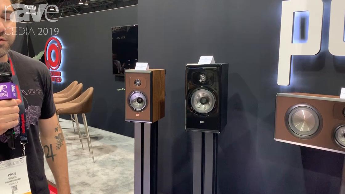 CEDIA 2019: Polk Audio Intros the New Legend Series of Loudspeakers