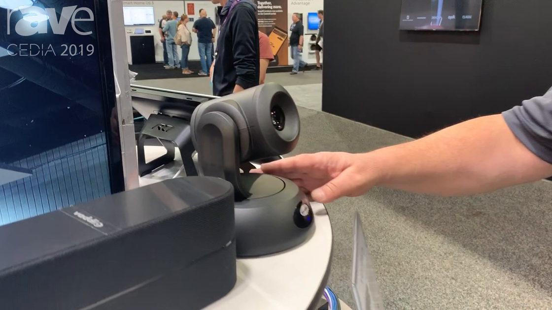CEDIA 2019: Capitol Sales Overviews Vaddio RoboSHOT PTZ Camera
