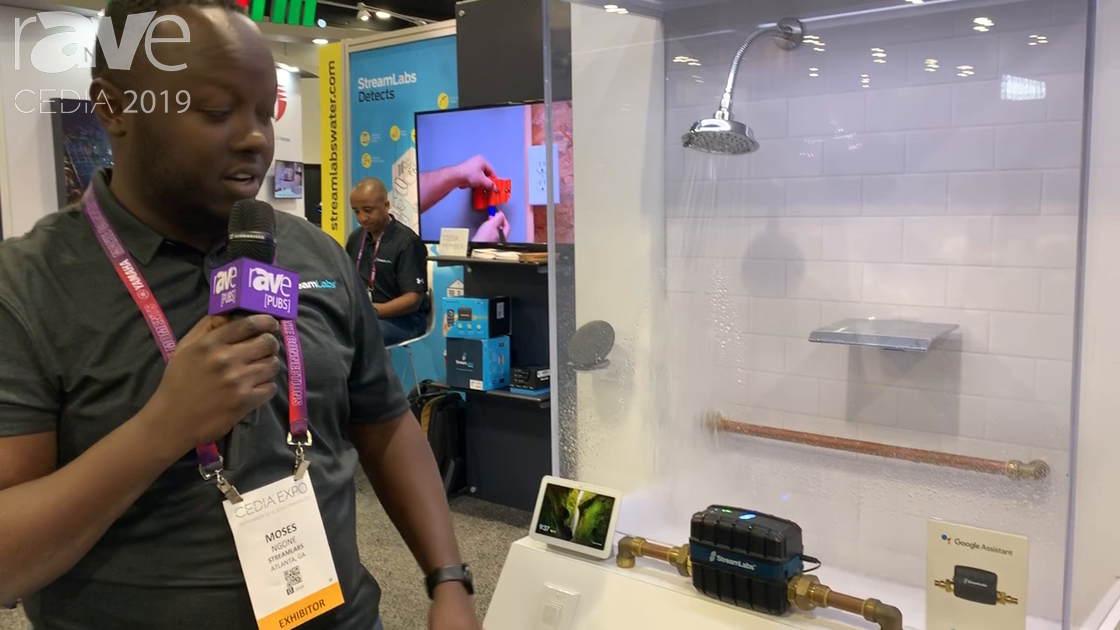 CEDIA 2019: StreamLabs Talks About Its Whole Home Water and Leak Detection System