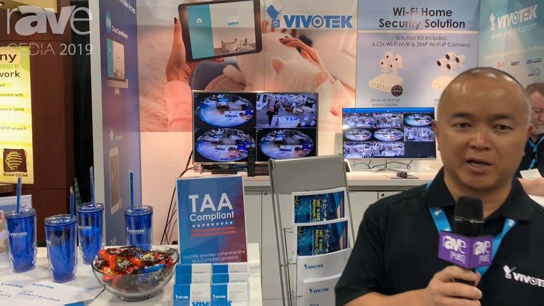 CEDIA 2019: VIVOTEK Exhibits Suite of IP-Networked Security and Surveillance Cameras