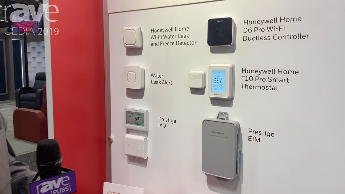 CEDIA 2019: Resideo Debuts Honeywell Home T10 Pro Smart Thermostat