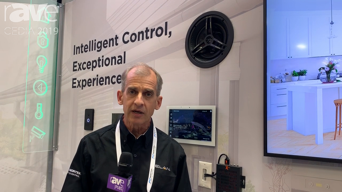 CEDIA 2019: ELAN Demos Intelligent Control Touch Panel With Facial Recognition for Preferences