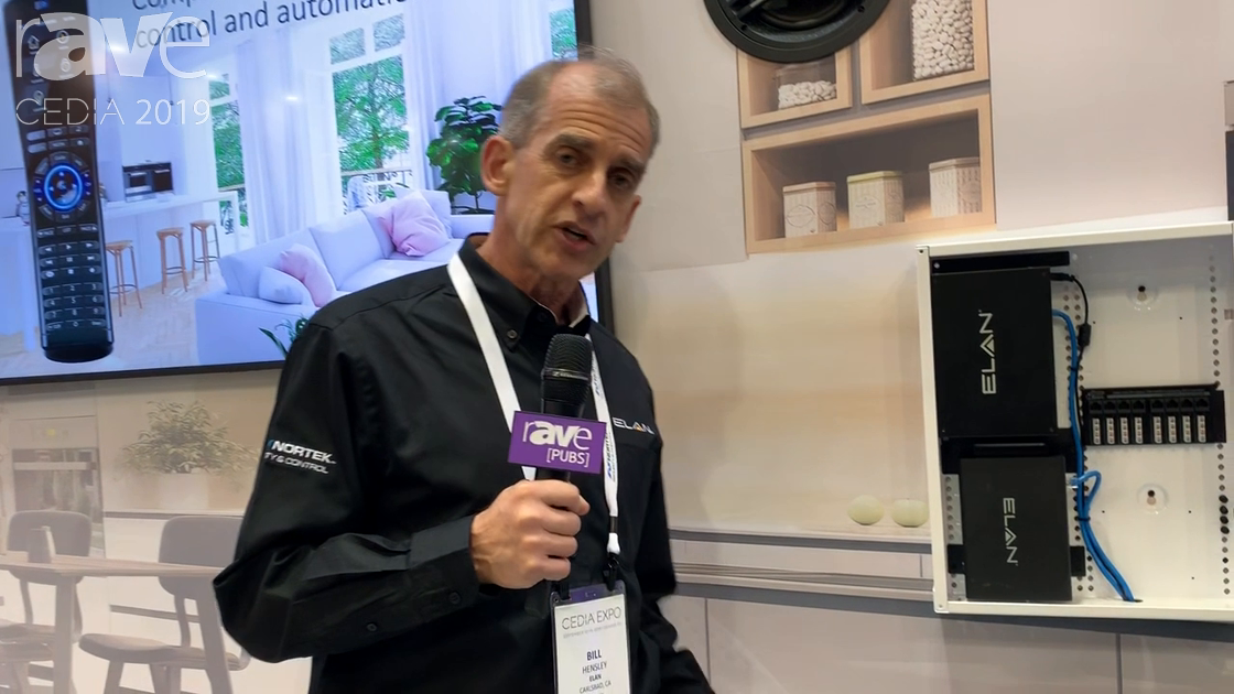 CEDIA 2019: ELAN Showcases New 6TB NVR and Six Different Security Cameras With Intellivision