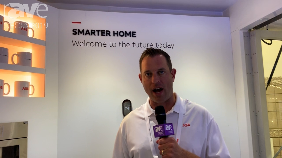 CEDIA 2019: ABB Showcases Free at Home Smart Home Solution With Wireless Wall Controls