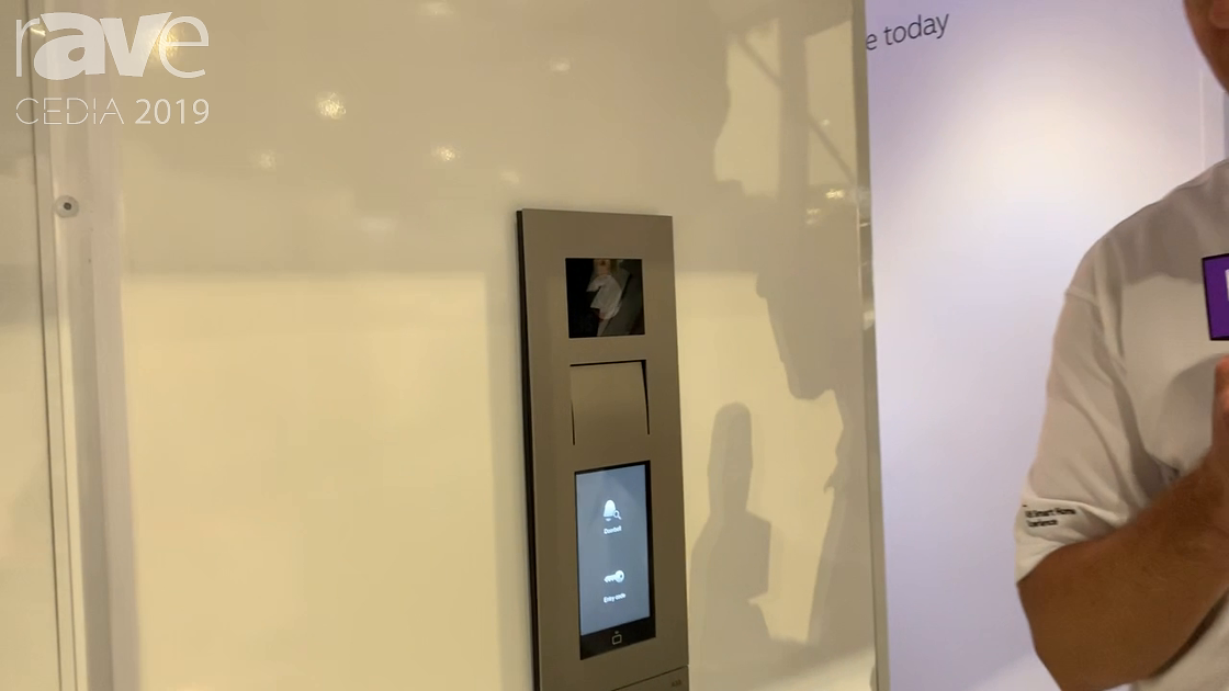 CEDIA 2019: ABB Shows Off Smart Home Experience and Doorway Entry System, Welcome IP