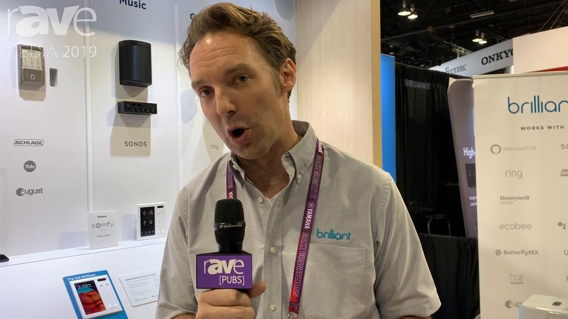 CEDIA 2019: Brilliant Demos Whole Home Smart Control