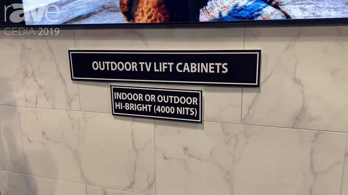 CEDIA 2019: Mirage Vision Outdoor TV Showcases Customizable Outdoor TV Lifts and Mounts