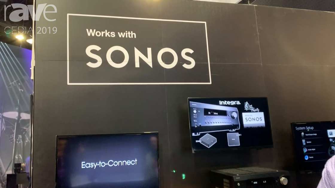 CEDIA 2019: ONKYO Explains Sonos Integration With Volume Pass-Through for Receivers