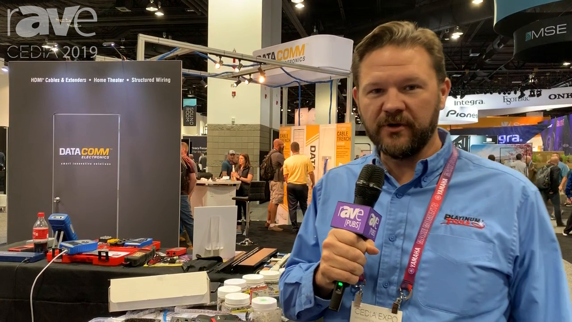 CEDIA 2019: Platinum Tools Talks About Waterproof Splicing Cuppler and Map Master Mini Cable Tester